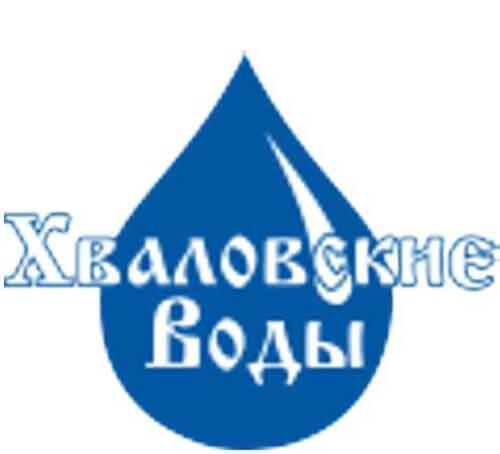 Хваловские воды логотип